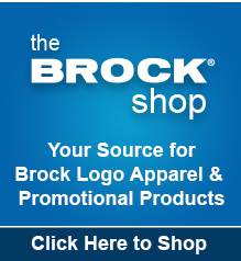 The Brock Shop- Your Source for Brock Logo Apparel & Promotional Products