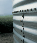 Brock's strong sidewall body sheets are made with G-90 galvanized steel with a tensile strength of 65 ksi (448 Mpa) to protect your grain and provide maximum strength.