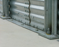 Brock's unique FULL SWEEP® Bin Anchoring System (patent pending) allows for the safe operation of single-pass sweeps in all Brock EVEREST Grain Storage Bins.