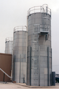 BROCK® Skirted Silo diameters range from 9 to 18 feet (2.7 to 5.5 meters)