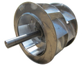Aluminum wheel is corrosion resistant and lightweight for better wheel balance.