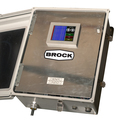 Brock Distributor Electronic Control features an easy-to-use touch-screen interface.