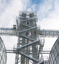 Brock's Bucket Elevator Support Towers