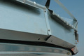 Close-up view of the BROCK® Eave Vent System.