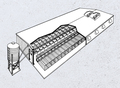 Typical FLEX-AUGER® System for Pigs