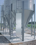 BROCK® Silo Ladder Security Door helps restrict unauthorized access to the silo's ladder.