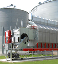 SUPER-AIR® Pneumatic System with Brock's SUPERB ENERGY MISER™ SQ Series Grain Dryer.
