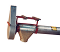 Brock's Rigid Auger System also includes a mount for the auger's drive motor.