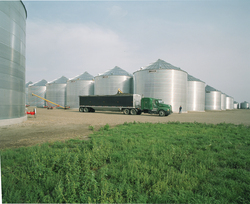 Brock's line of on-farm grain storage bins offer a number of industry-leading features designed to make the bins more convenient to use and to add value for dependable, secure grain storage.