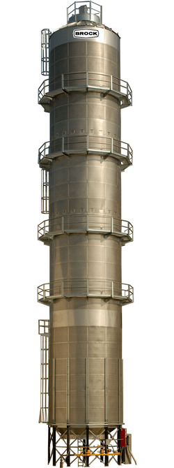 BROCK® Commercial Tower Grain Dryer