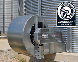 Brock's GUARDIAN® Series Double-Wide Double-Inlet Centrifugal Fan