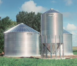 Imaginative design and engineering make BROCK® Bins superior performers on the farm.