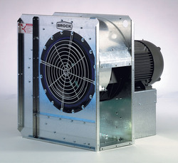 Brock's GUARDIAN® Series high-speed centrifugal aeration fan.