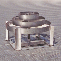 Brock's WELL-GARD® Discharge Guard for on-farm grain bins.