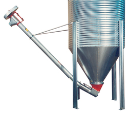 Brock offers a choice of either a 4- or 6-inch (102- or 152-mm) diameter Rigid Auger System for limited feed handling and grain moving applications.