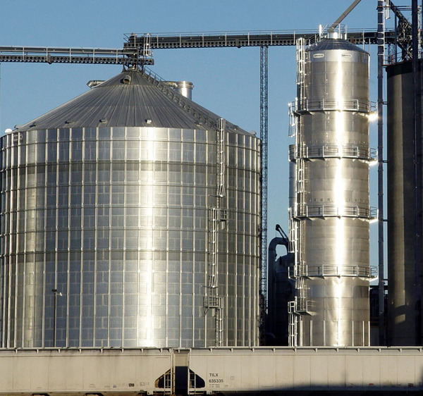 BROCK® Commercial Tower Grain Dryer - Brock® Systems for Grain