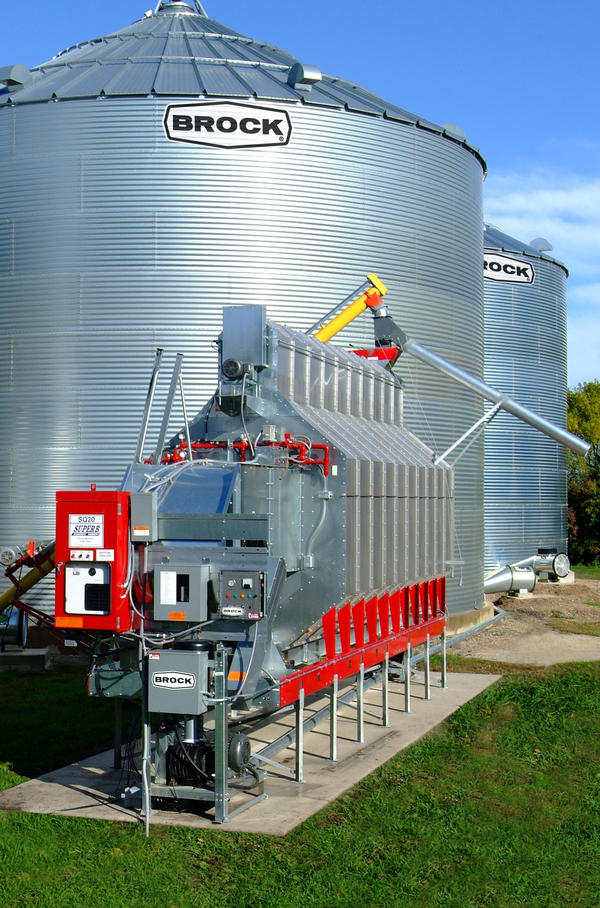 Brock also offers handling conditioning and drying systems along with storage bins. & BROCK® On-Farm Grain Storage Bins - Brock® Systems for Grain Storage ...