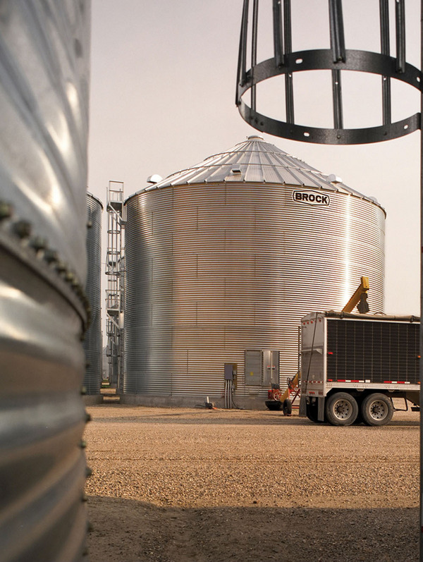 BROCK® On-Farm Grain Storage Bins - Brock® Systems for Grain