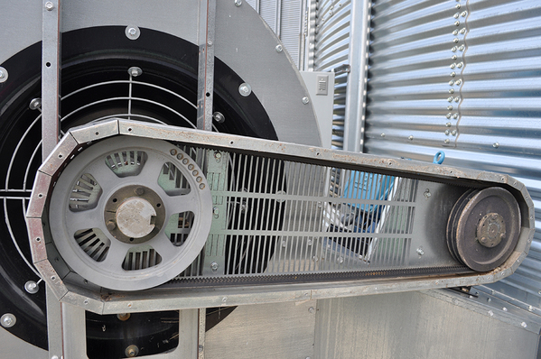 Belt Fans On Vfd Drive : Double wide inlet aeration fans brock systems