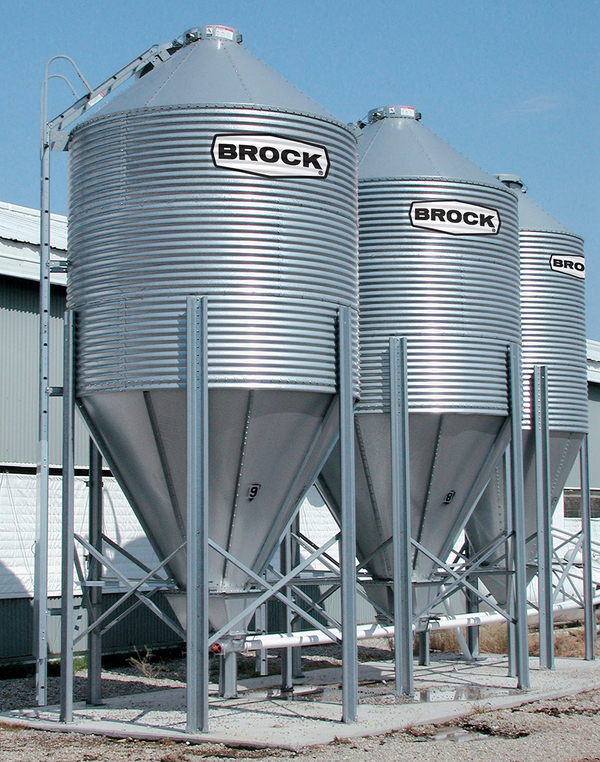 BROCK® ALL-OUT® Feed Bin System - Brock® Systems for Grain