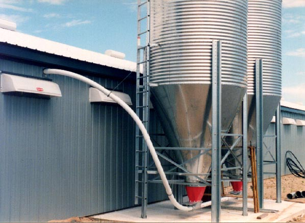 Flex Auger 174 Conveying Systems Brock 174 Systems For Grain