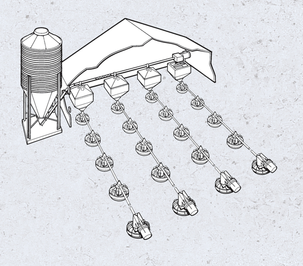 FLEX-AUGER® Conveying Systems - Brock® Systems for Grain