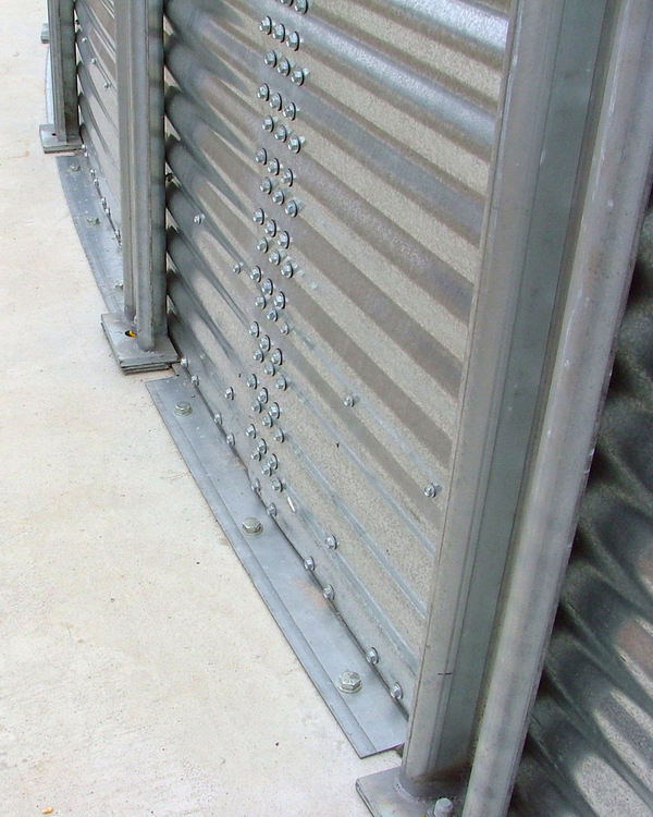 BROCK® Stiffened Bin Features - Brock® Systems for Grain Storage