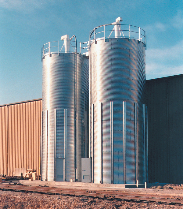 Brock 174 Skirted Storage Silos Brock 174 Systems For