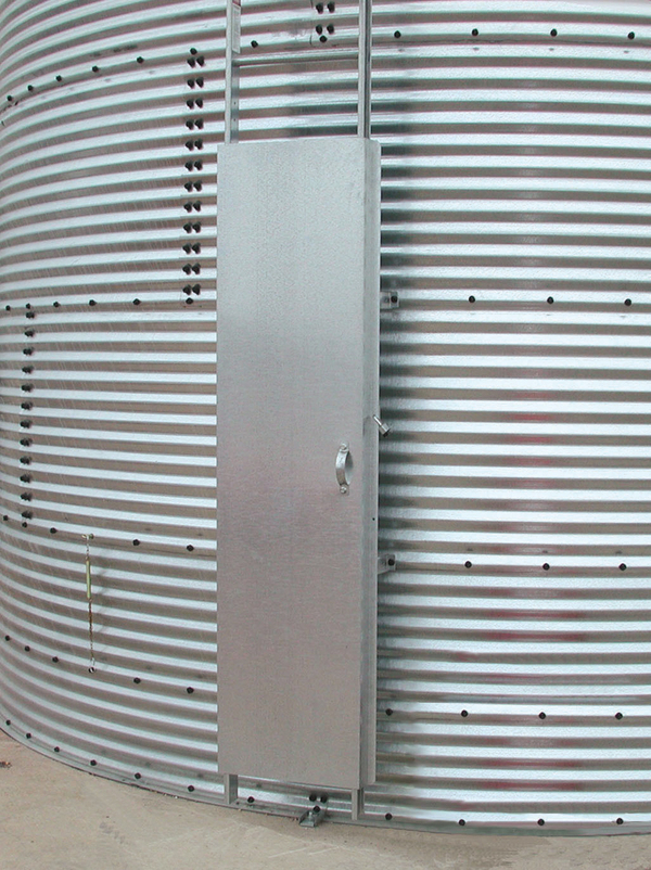 Ladder Security Door Amp Ladders Brock 174 Systems For Grain