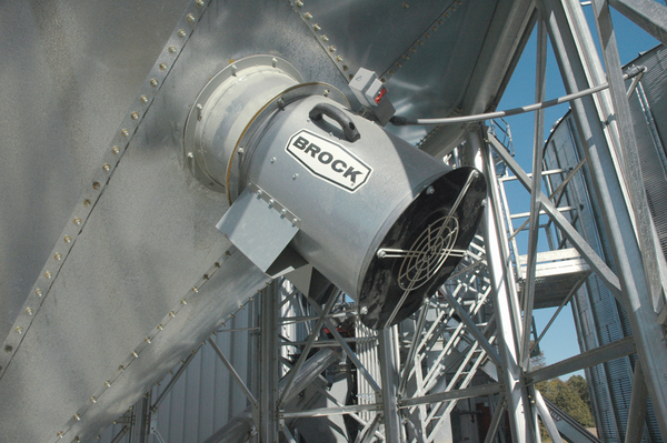 Stiffened Hopper Bin Features - Brock® Systems for Grain Storage