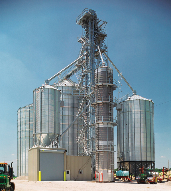 BROCK® Stiffened Grain Bins - Brock® Systems for Grain Storage