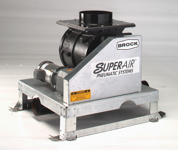Super High Pressure Blowers : Super air blower package brock systems for grain
