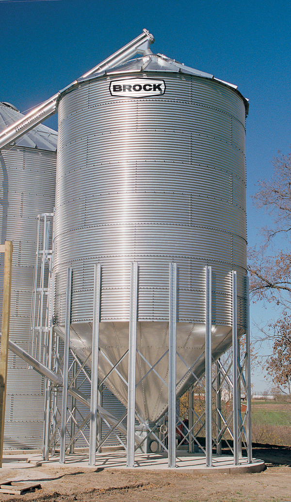 If your needs include wet holding bins seed storage bins overhead gravity-flow tanks blending tanks or a bin for tempering your grain consider a BROCK® ... & BROCK® On-Farm Hopper Bins - Brock® Systems for Grain Storage ...